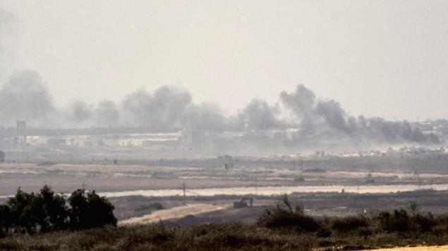 Represalia contra Hamas en Gaza