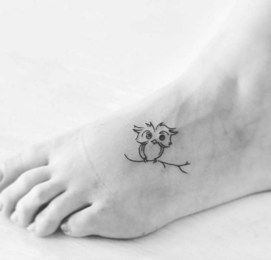 Cute Owl Tattoo Ideas For Women and Men