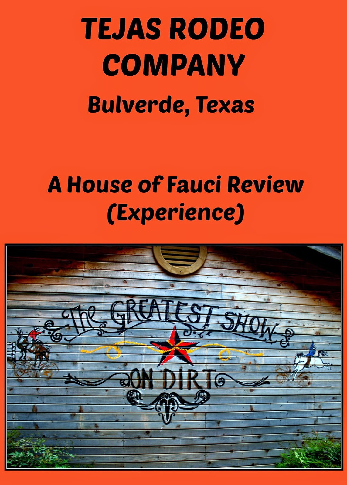 House Of Fauci S Tejas Rodeo Company In Bulverde Texas