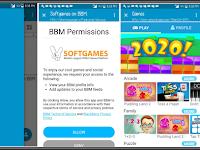 BBM Mod Beta Extra Games V300.2.1.9 Apk