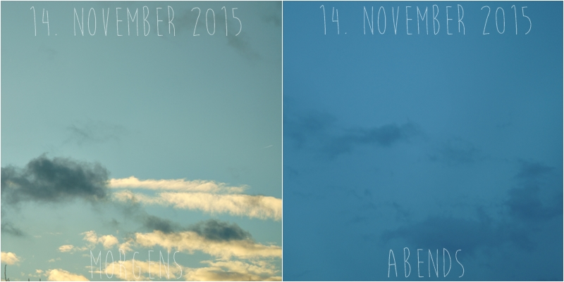 Blog + Fotografie by it's me! - Himmel am 14.11.2015