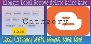 Category-delete-kaise-kare