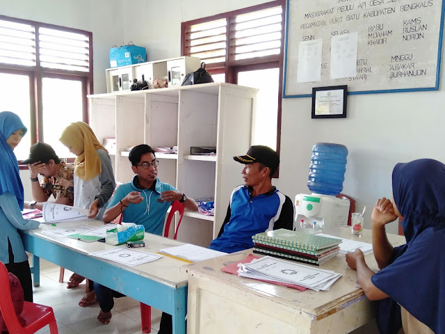 Relawan PSB Kumpulkan Data Hotspot Dari MPA di Sepuluh Desa