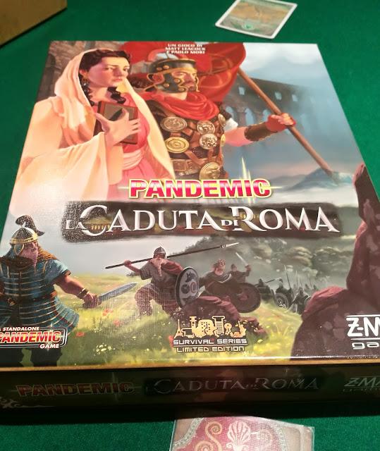 Pandemic: La caduta di Roma. La disfatta di Philippopolis per mano della vestale.
