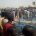 Fire outbreak burns scores to death in IPD camp Brono State as children are mostly involved (Photos)