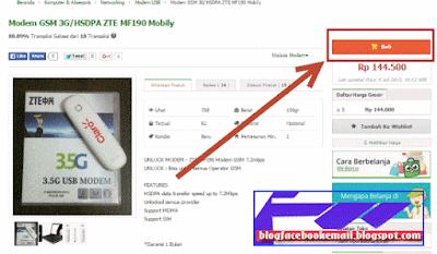 cara membeli di situs belanja online  dengan aman