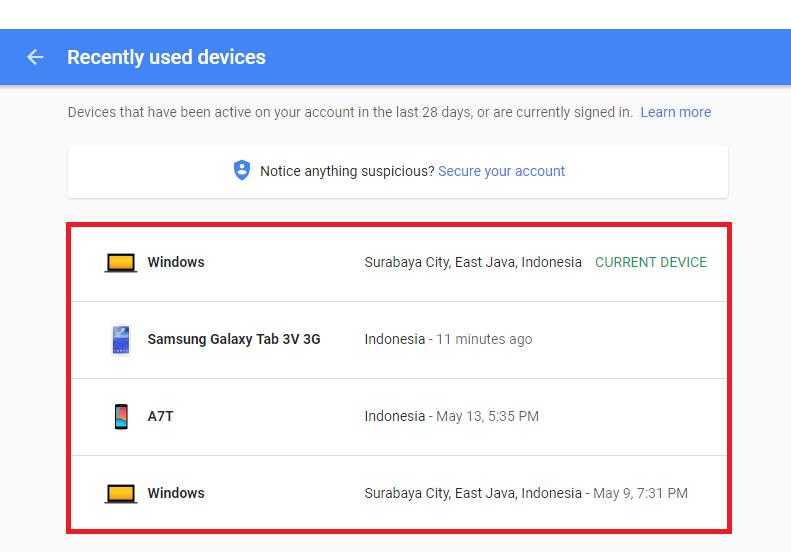 Cara Mudah Logout Akun Gmail Yang Ada Di Perangkat Lain Mymastah