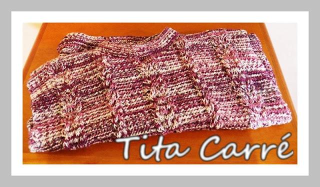 Blusa Multitons em tricot