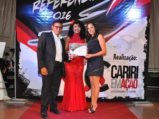 Portal de Noticias AMPARO LIGADO recebeu Prêmio Referência 2016