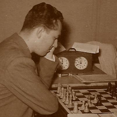 El ajedrecista Francisco Ballbé Anglada en 1954