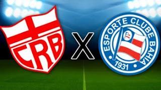 Hoje tem CRB x Bahia, pela 3ª fase da Copa do Brasil