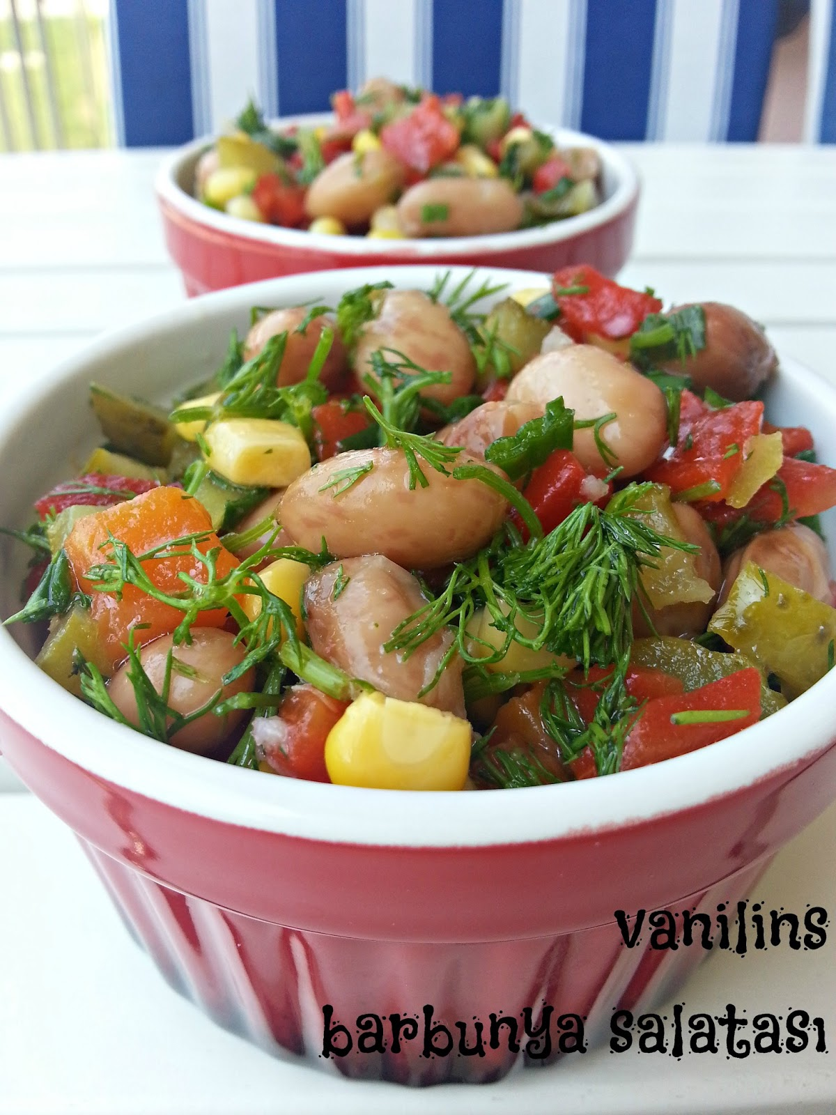 Barbunya Salatası Videosu