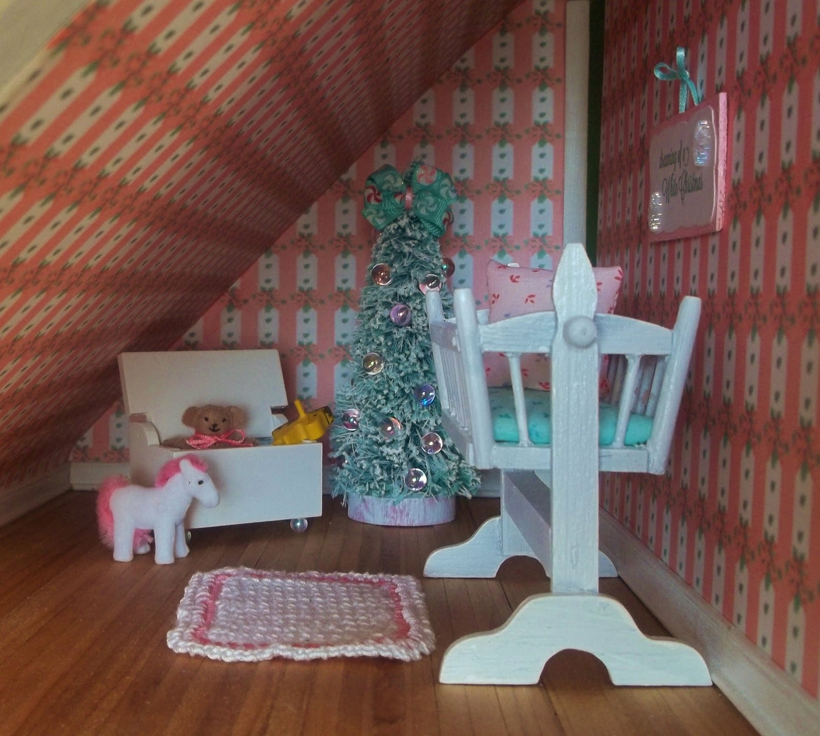 Little Things By Anna A Merry Mini Christmas Dollhouse
