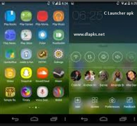 C Launcher apk download