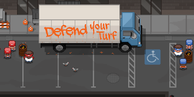 Game Defend your turf Street fight Apk