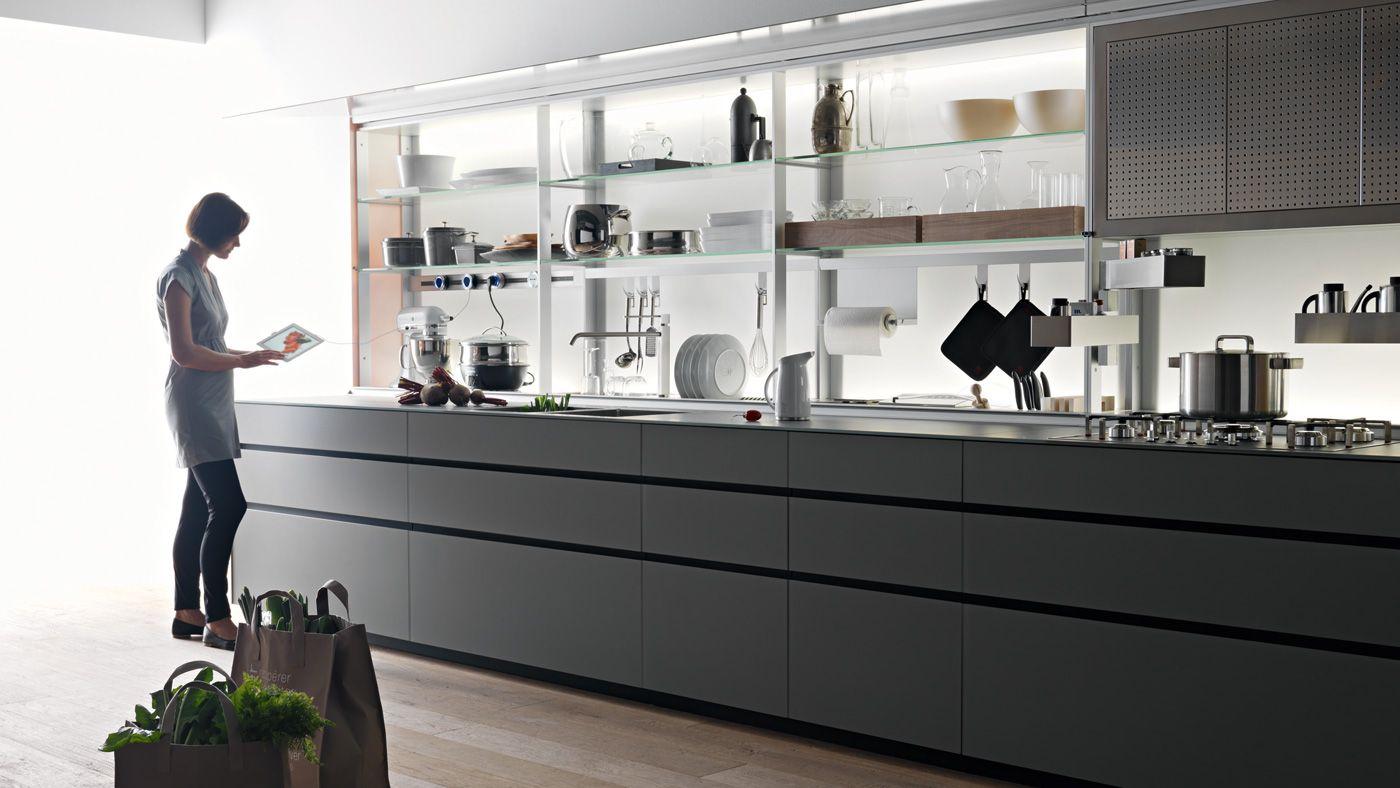 La cocina en l nea dise ada para estancias estrechas - Net cucine new smart ...