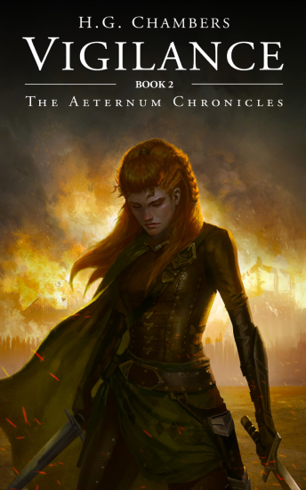 Vigilance, The Aeternum Chronicles, H.G. Chambers, book review