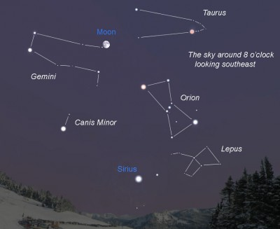 Amateur Stargazing How To Identify Few Constellations Using Orion