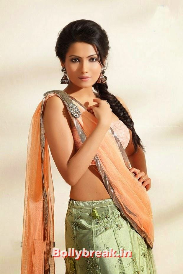 , Deepika Kamaiah Hot Photoshoot Pics in Indian Sareee - Indian Actress