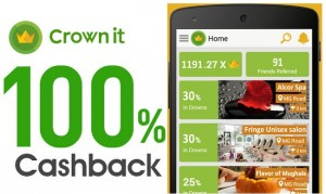 CROWNIT LOOT TRICK - REFER 3 FRIENDS & GET RS.100 FIPKART, AMAZON