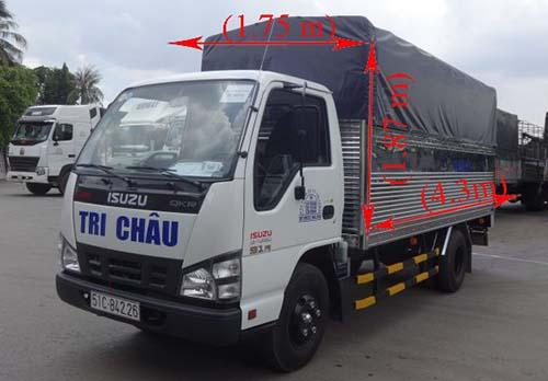 Xe tải của công ty vận tai tri châu