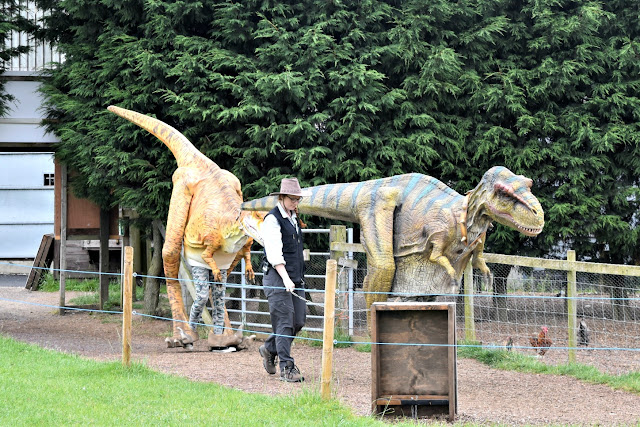 Dinosaurs Awaken at National Forest Adventure Farm