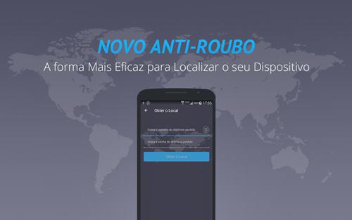 Você pode localizar e travar o aparelho enviando um SMS para ele.