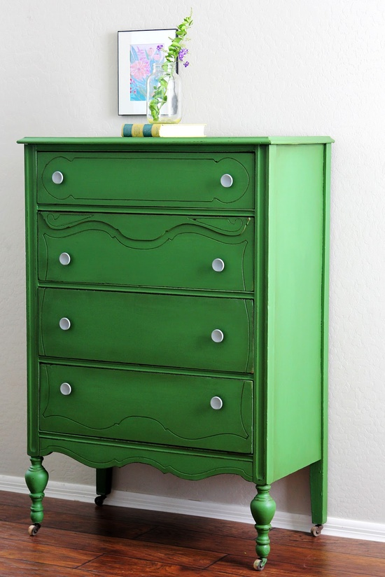 Emerald Green Painted Furniture Julia Ryan