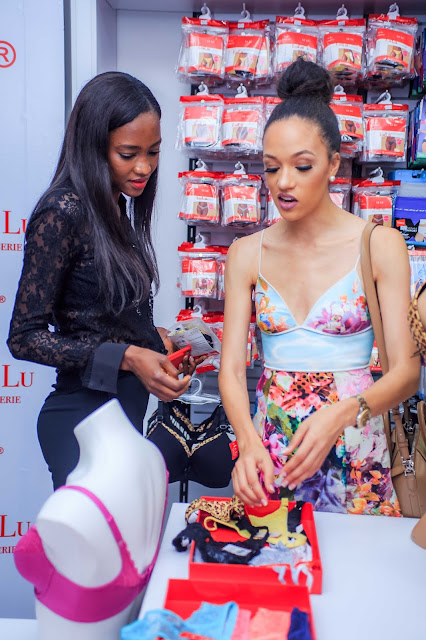 Oluchi Orlandi, founder Lulu Lingerie, hosts #Lulutalks and #SipnShop as she launches new collection for Lulu Lingerie in Lagos
