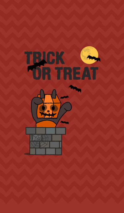 Trick or Treat! + red [os]