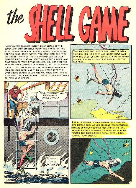 Piracy v1 #2 ec comic book page art by Al Williamson