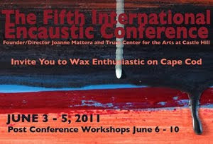 Encaustic Conference Postcard