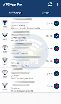 تطبيق WPSApp Pro مدفوع للأندرويد, تهكير الواي فاي للاندرويد بدون روت, كيف اخترق واي فاي الجيران, اختراق شبكة واي فاي عن طريق هاتف اندرويد