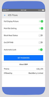 BBM MOD Like iOS APK v3.3.1.24 New 2017 Free !