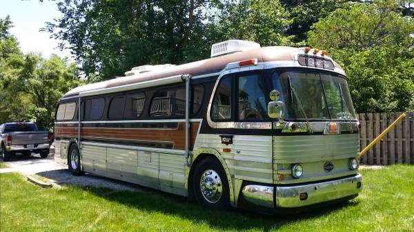 Used RVs 1957 GMC Coach Motorhome Conversion For Sale by Owner