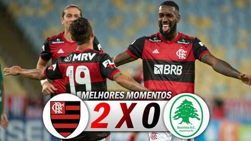 Assista aos melhores momentos de Flamengo 2 x 0 Boavista