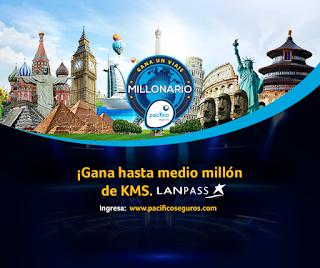 [Concurso] Juega y gana hasta medio millón de KMS LANPASS - Gana un Viaje Millonario con Pacífico