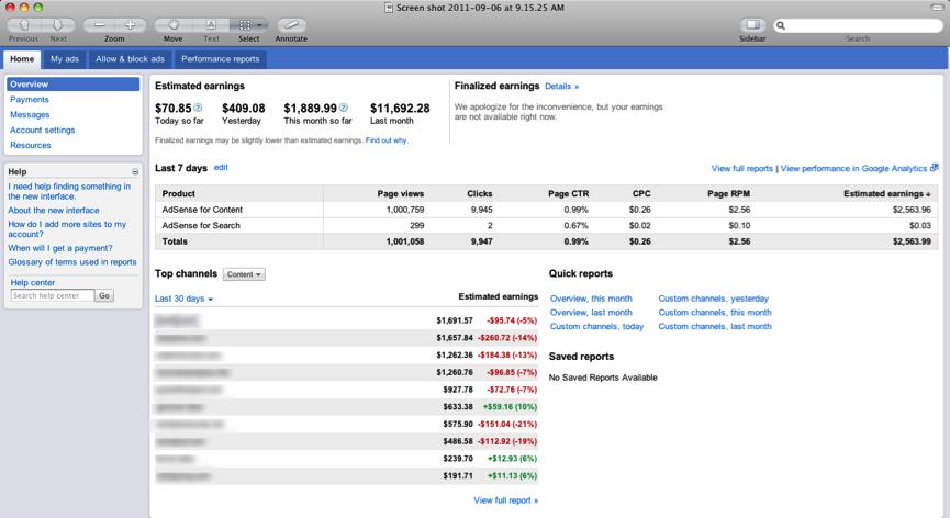 Google AdSense обновил интерфейс - «Интернет»
