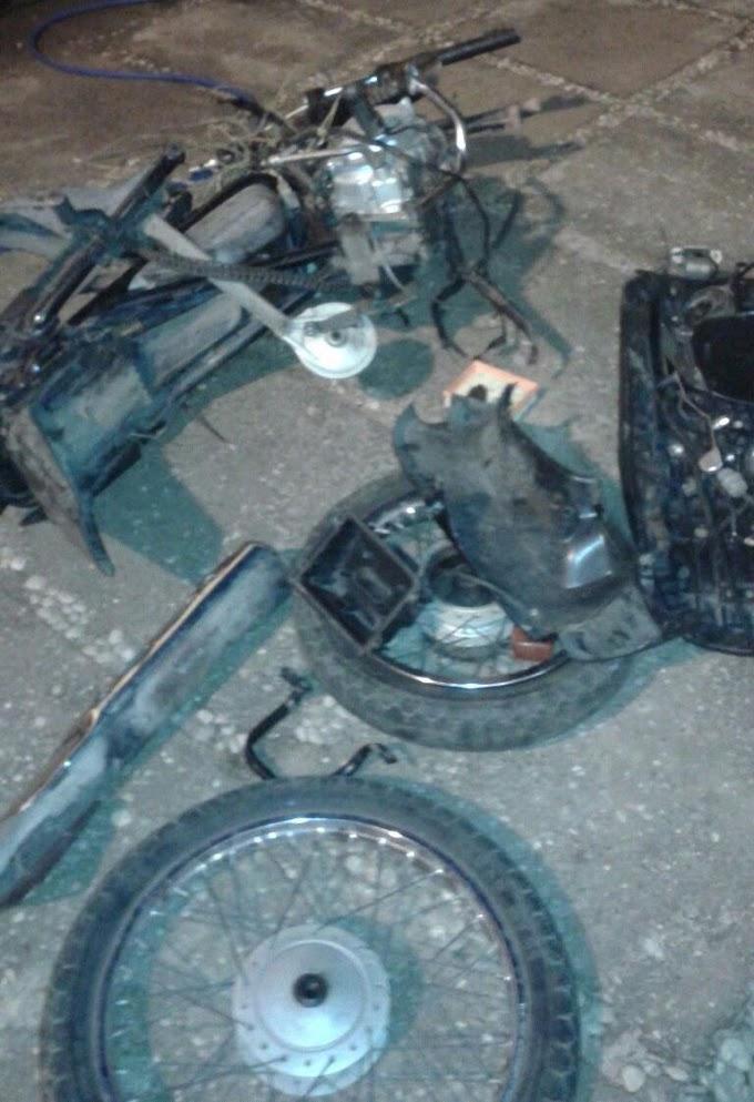 POLÍCIA: Inteligência do 2º BPM desarticula desmanche de motocicletas em Caxias
