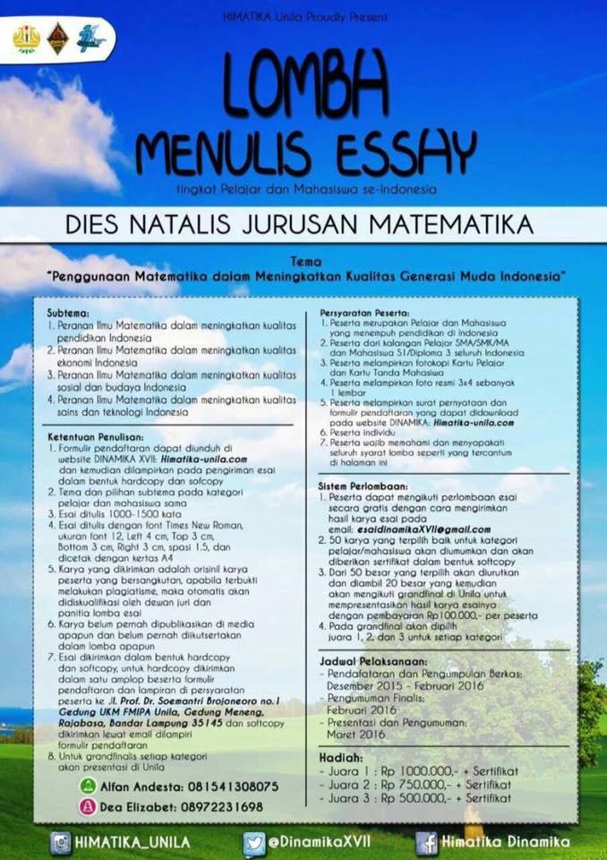 Menulis Essay