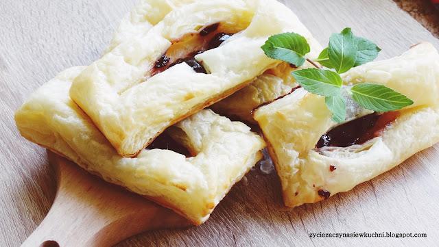 Ciasteczka francuskie z domową marmoladą