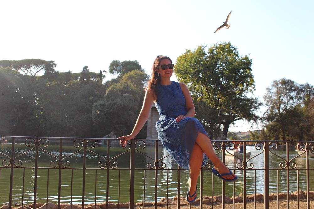 Villa Borgheses gardens, Rome - style & travel blog