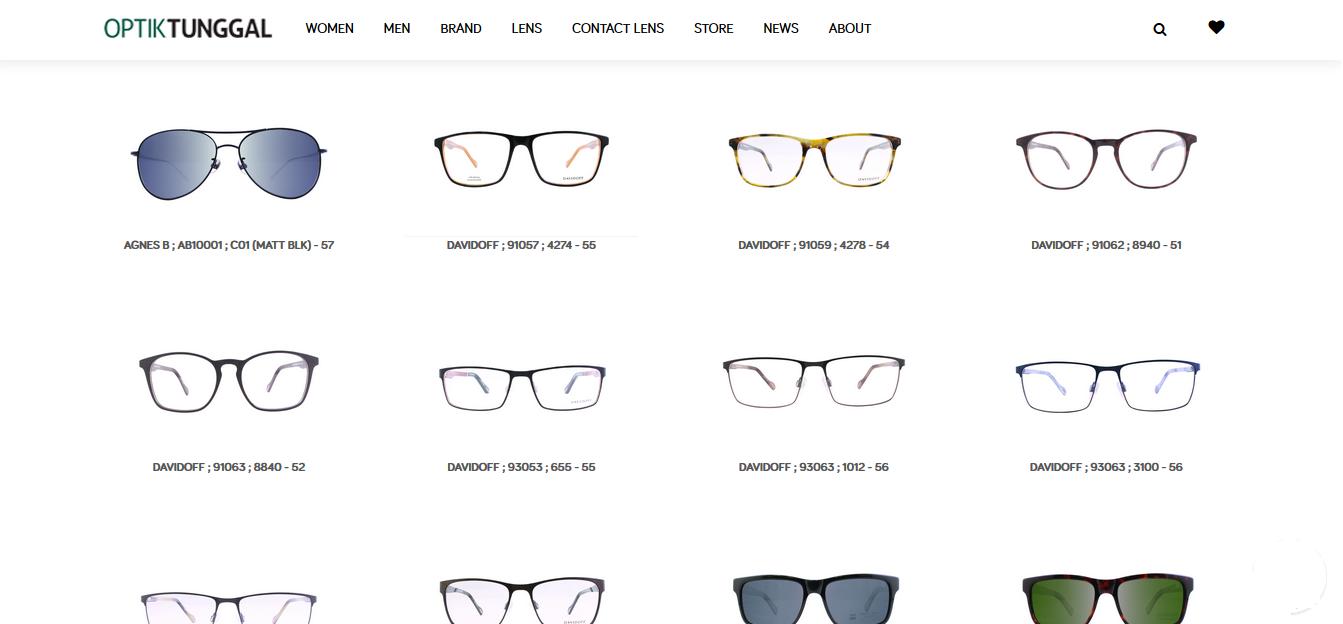 Produk Kacamata OPTIK TUNGGAL 0650c31218