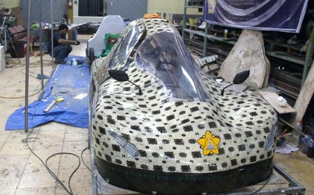 Mobil Buatan Mahasiswa Aceh di Ajang Kompetisi di Singapura