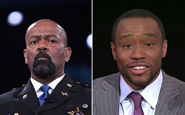 Sheriff Clarke Destroys CNN's Marc Lamont Hill for 'Mediocre Negroes' Jab... Then Gives Him a Look into his 'Irrelevant' Future