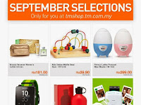 September Selections Only for You at tmshop.tm.com.my