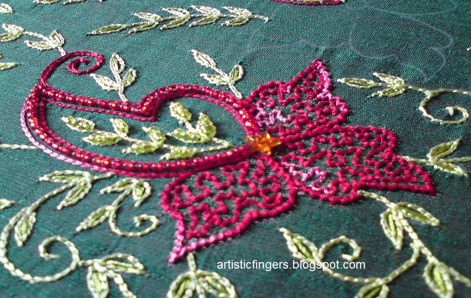 Artisticfingers Aari Embroidery Part 7