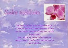 Sms Zu Sagen Texte Condoléances Avec Fleurs