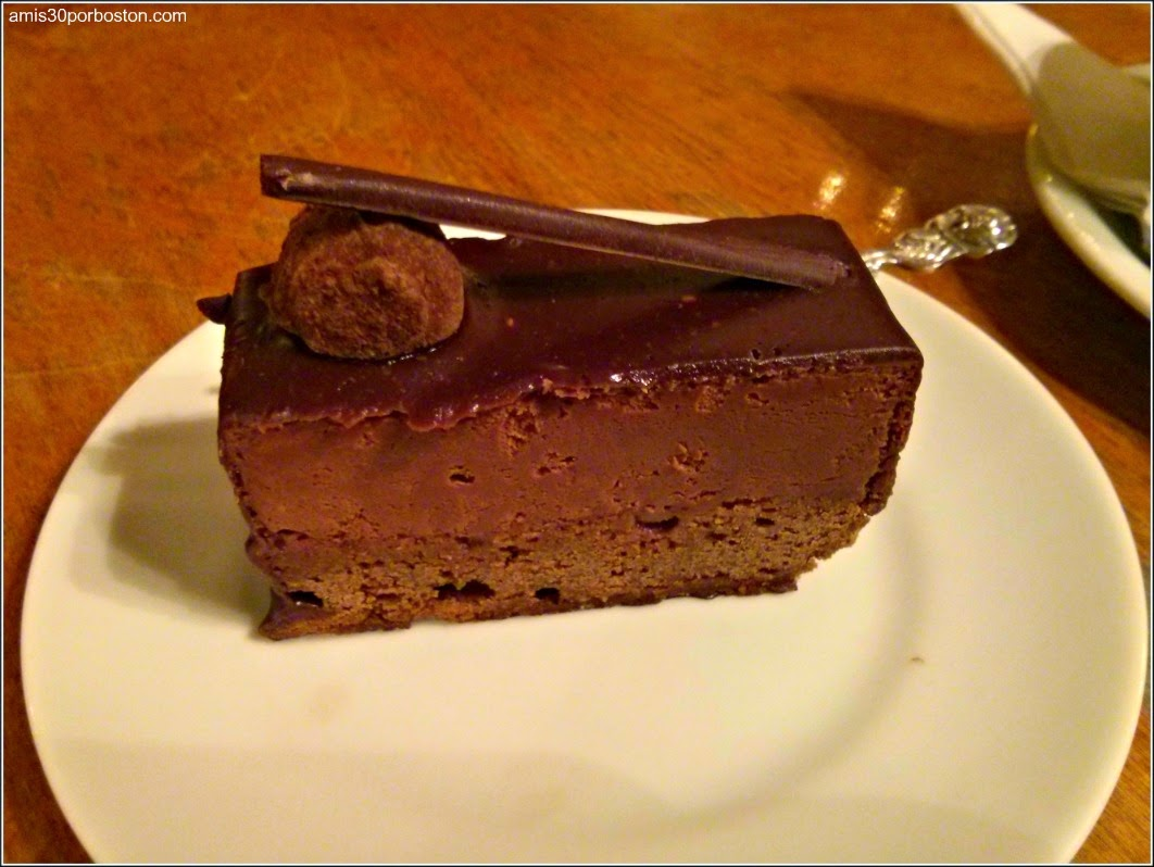 Hot Chocolate: Chocolate Mousse Cake