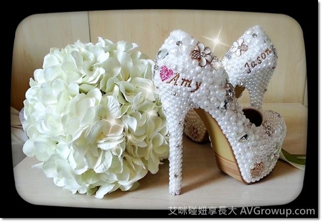 訂製婚鞋-超高跟鞋-姓名婚鞋